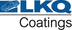 Image showing LKQ Coatings logo - UK's widest brand offering of paint and consumables