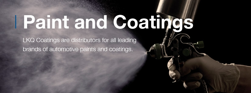 LKQ Coatings are distributors for all elading brands of automotive paints and coatings.
