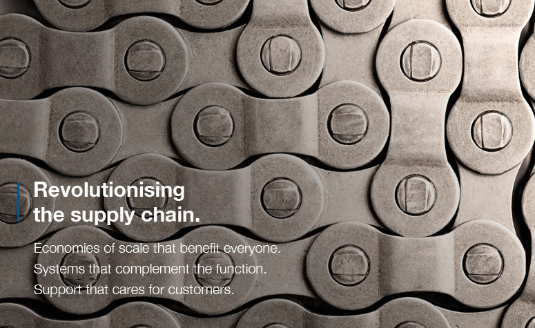 Revolutionising the supply chain.